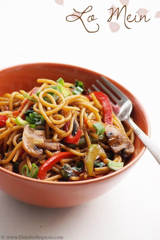 lo mein noodles recipe, how to prepare easy lo mein noodles recipe