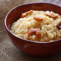 Godhuma Rava Halwa Recipe - How to Make Wheat Rava Kesari - Varalakshmi Vratham Recipes