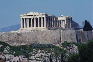 Exterior of the Parthenon