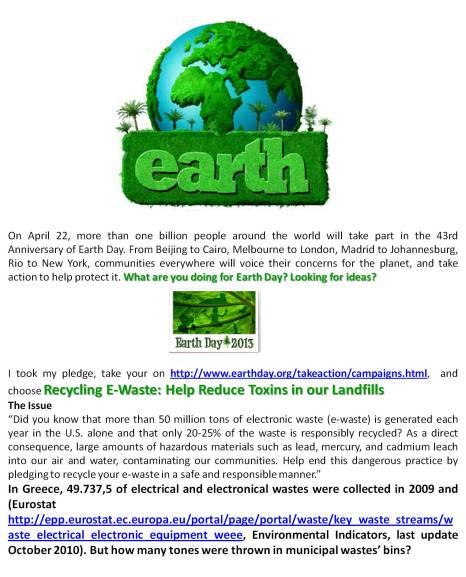 I took my pledge for 2013 u - Δημιουργία από Camille Delcour αλλά φωτογραφίες από Earth Day 2013 και άλλα