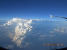 Από αεροπλάνο - Photo Credit: Camille Delcour 2013