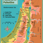 Physical Features Of The Land Of Israel Leon S Message Board
