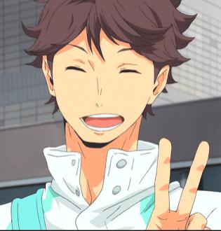 oikawa smile 2