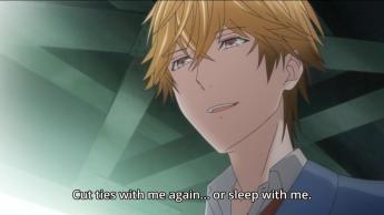 Hasekura's ultimatum