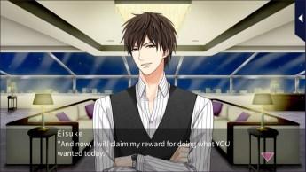 Eisuke Ichinomiya from Kissed By The Baddest Bidder talking to his MC