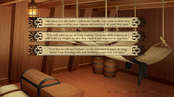 The Spanish Privateer Demo Review Blerdy Otome 1