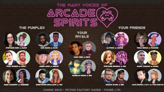 Arcade Spirits VAs