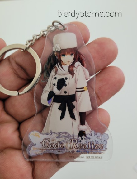 Wintertide Miracles Limited Edition Cardia Keychain