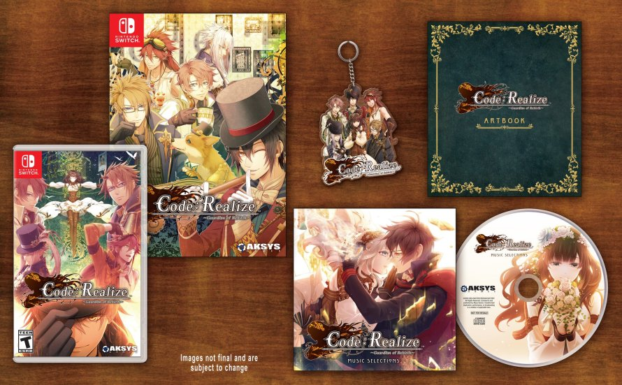 Code Realize Guardians of Rebirth Limited Edition