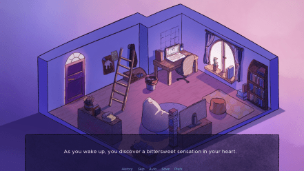 Reminiscence in the Night Visual Novel