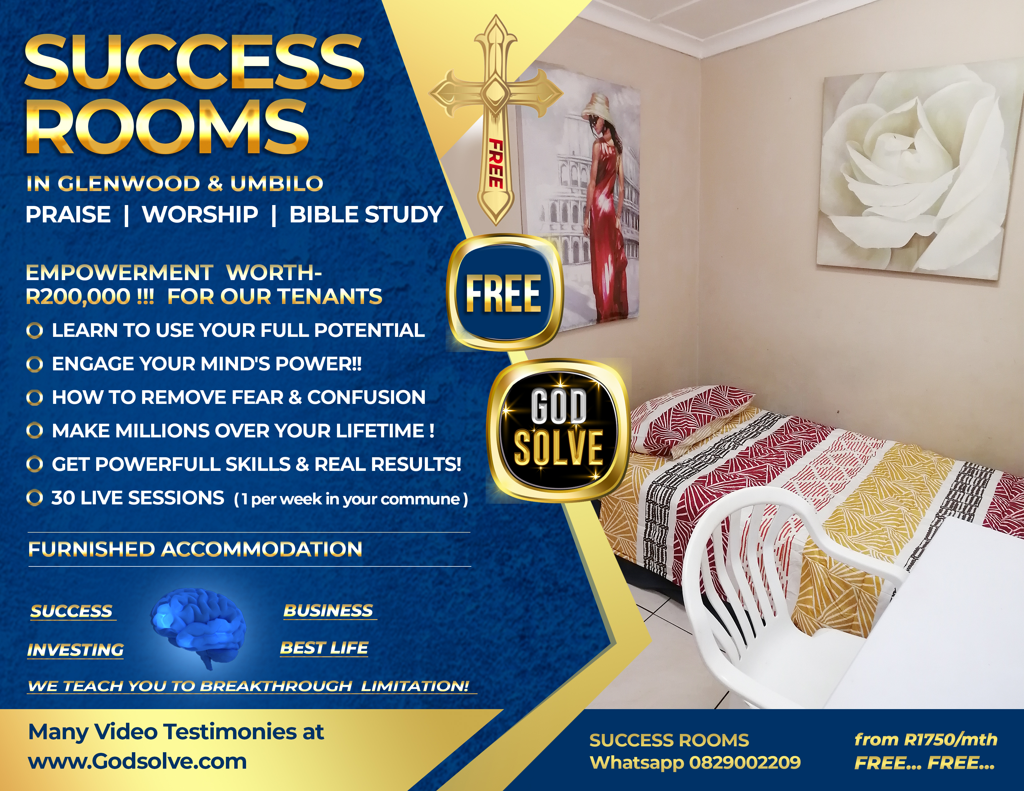 Student Accommodation Durban Godsolve sharing accommodation in durban with Durban Lifecoach Richard Daguiar