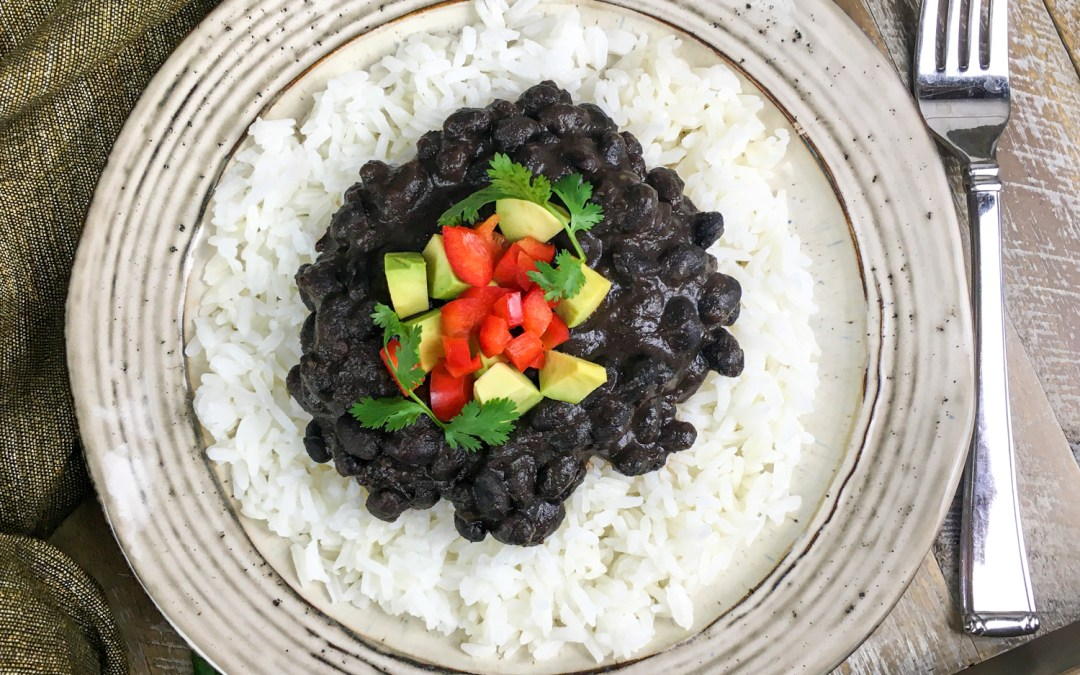 Instant Pot® Cuban-Style Black Beans and Rice