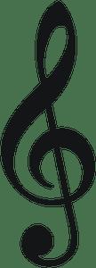 Design-Music Treble Clef 2