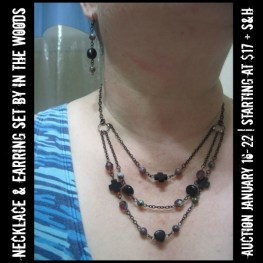 Necklace & Earring Set by In the Woods