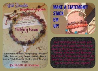 Pulp Street Creations Wish Bracelet