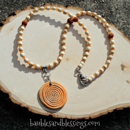 2017-04-30-Beadfreaky-Spiral-Orange-Red-Aventurine-Rudraksha-Necklace-1