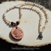 2017-04-30-Peach-Pearl-Moonstone-Lotus-Diffuser-Rudraksha-Necklace