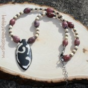 2017-04-30-Rhodonite-Hematite-Wood-Bone-Necklace-2