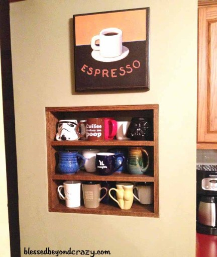coffee shelf 1