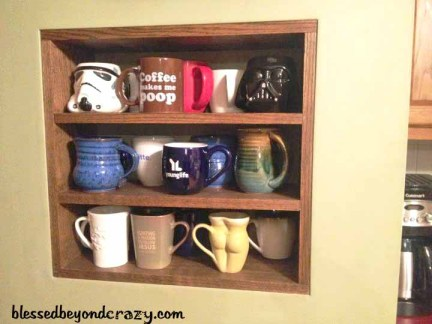 coffee shelf