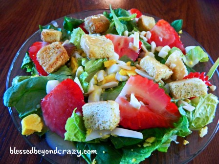 Honey Mustard Salad