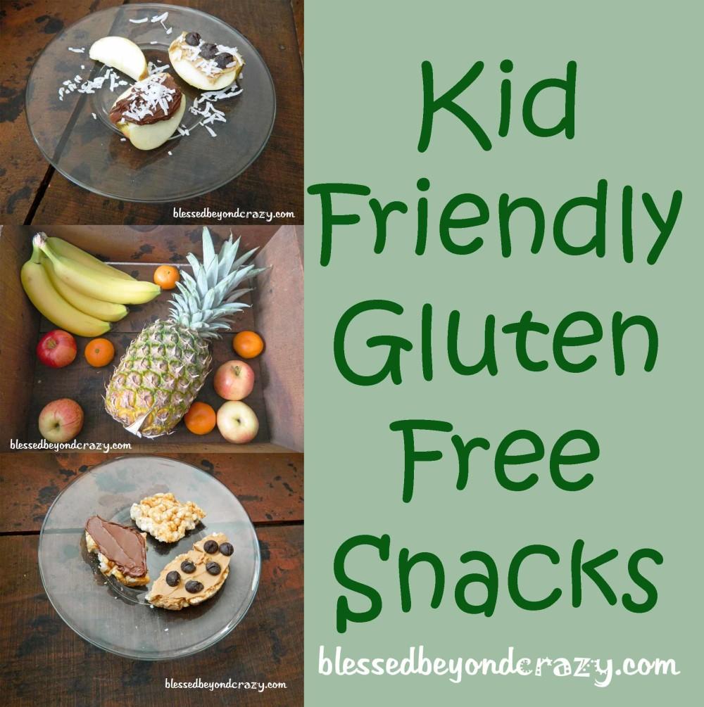 kid friendly gluten free snacks