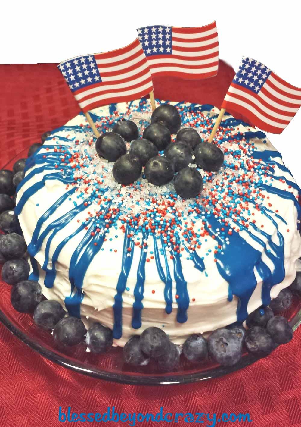 Happy Birthday America Cakes!!!