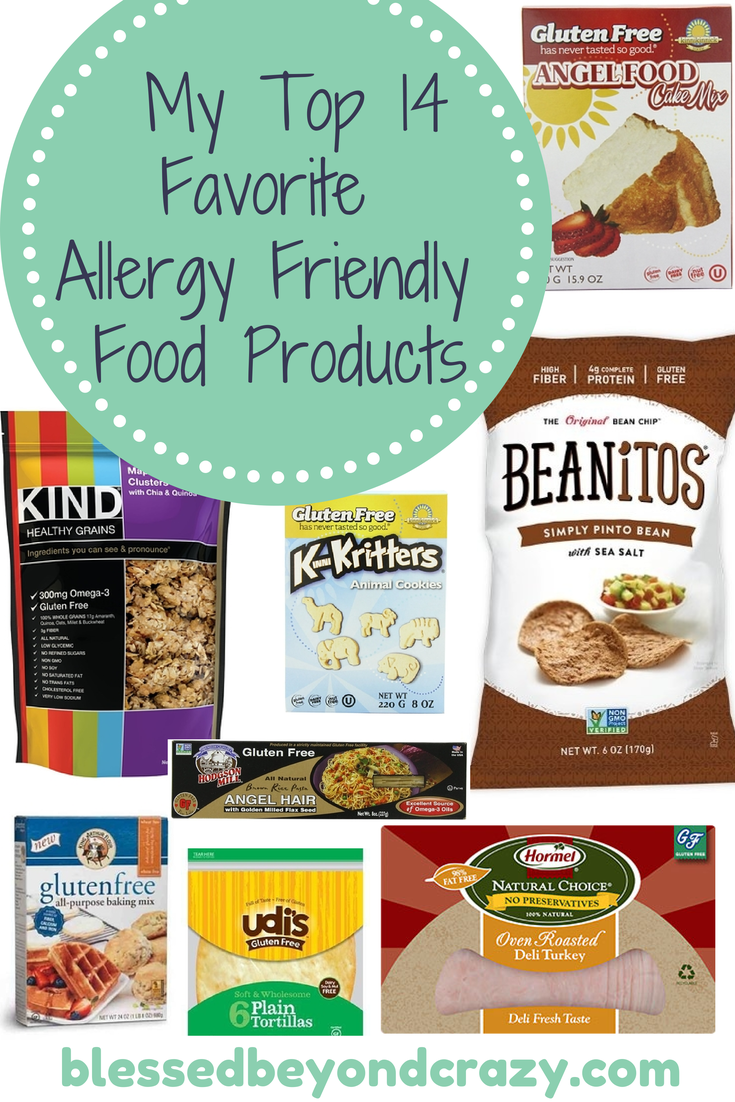 My Top 14 Favorite Allergy Friendly Food Products -