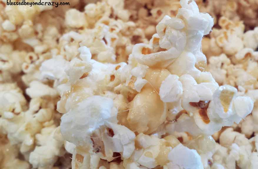 Easy Stove Top Caramel Popcorn Gf