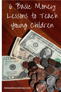 6 Basic Money Lessons to Teach Young