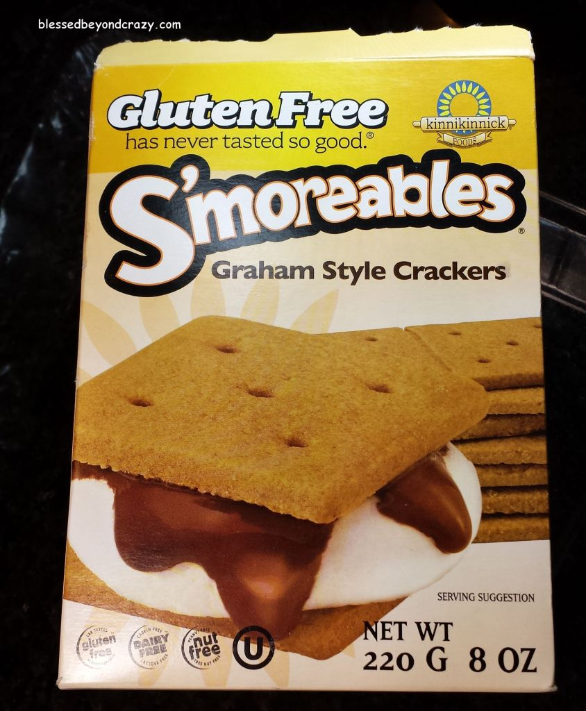 GF Graham Crackers for Heath Bits Cheesecake (GF Option)