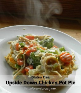 gluten free chicken pot pie