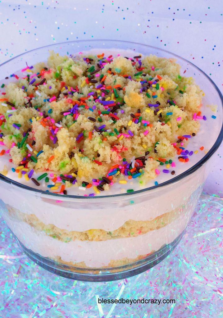 Funfetti Birthday Cake Trifle 7