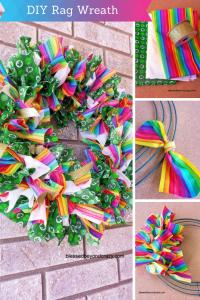 DIY Rag Wreath 2