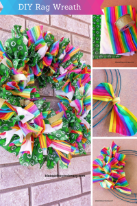 DIY Rag Wreath 2