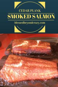 Cedar Plank Smoked Salmon 2