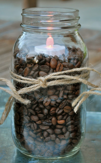 Coffee Mason Jar Decor