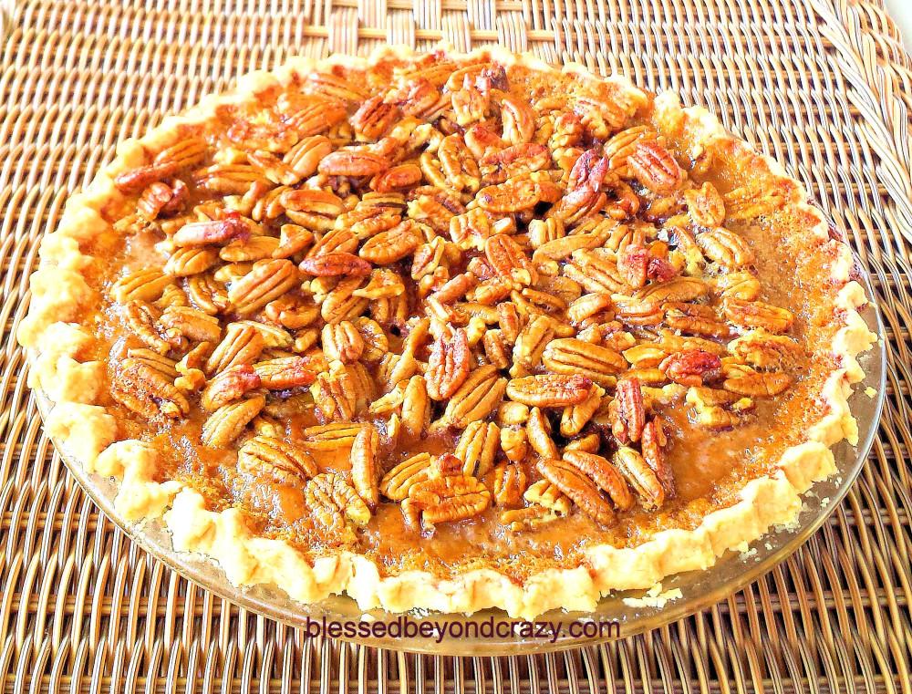 Pecan Pumpkin Pie 6