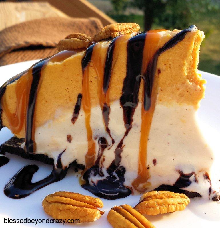 Butter Pecan Pumpkin Pie 5