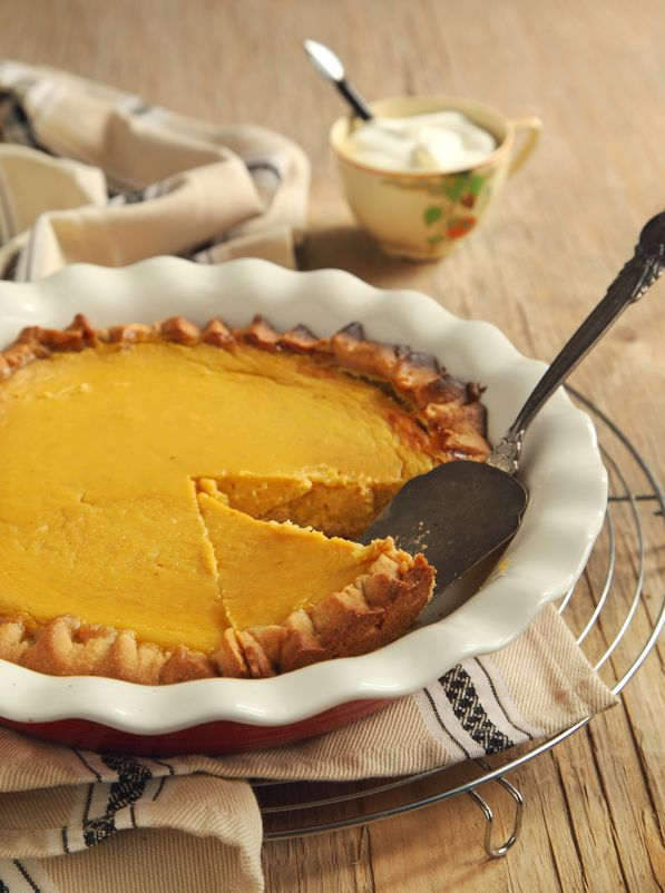 Butternut Squash Pie 5
