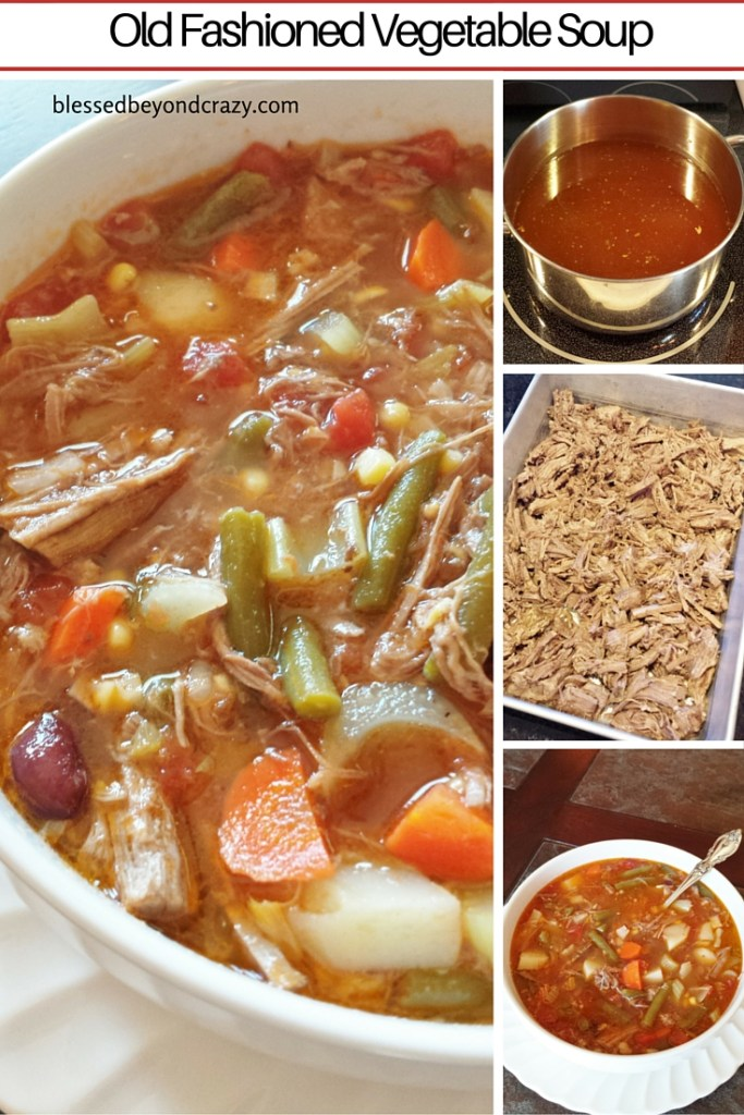 Old Fashioned Vegetable Soup 11