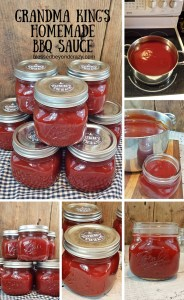 Grandma King's Homemade BBQ Sauce 6