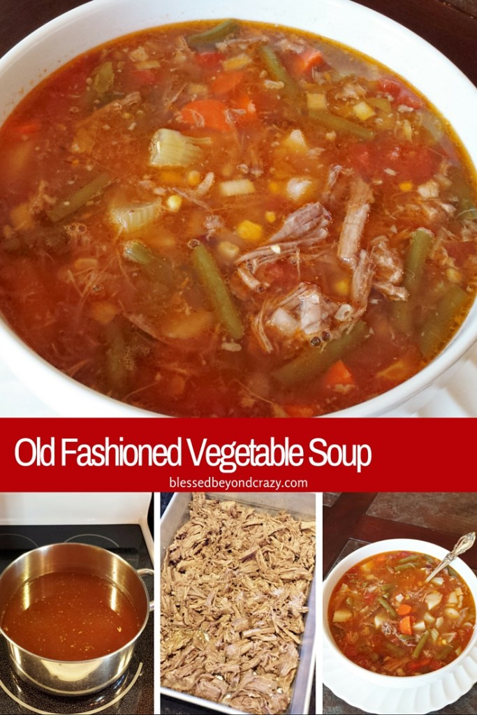 Old Fashioned Vegetable Soup 10