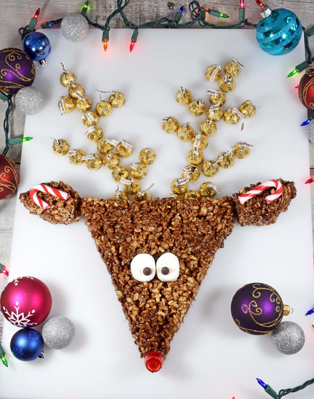 center piece reindeer