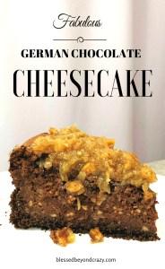German Chocolate Cheesecake 8
