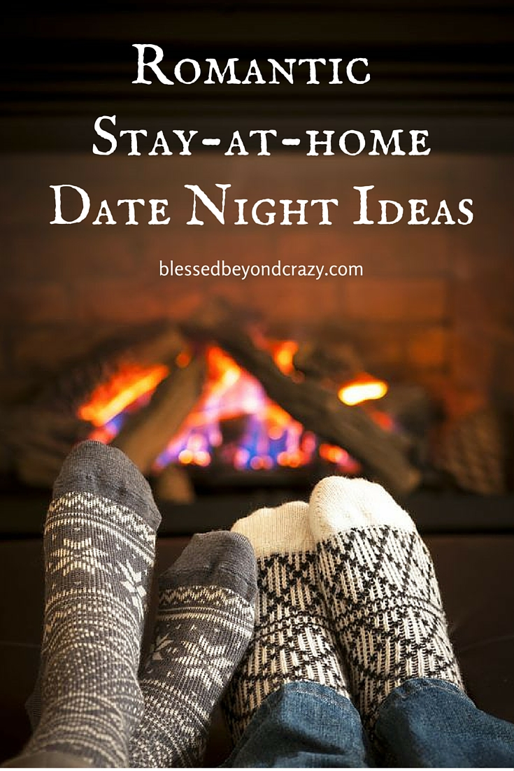 romantic stay-at-home date night ideas -