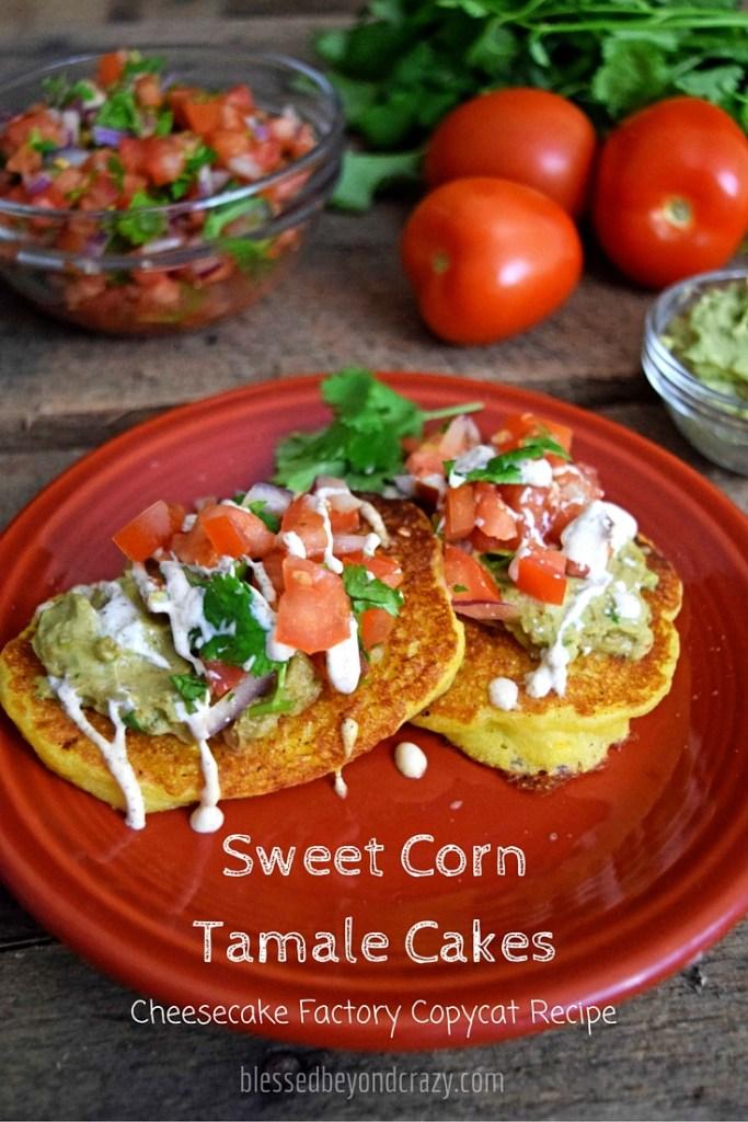 corn tamale cakes
