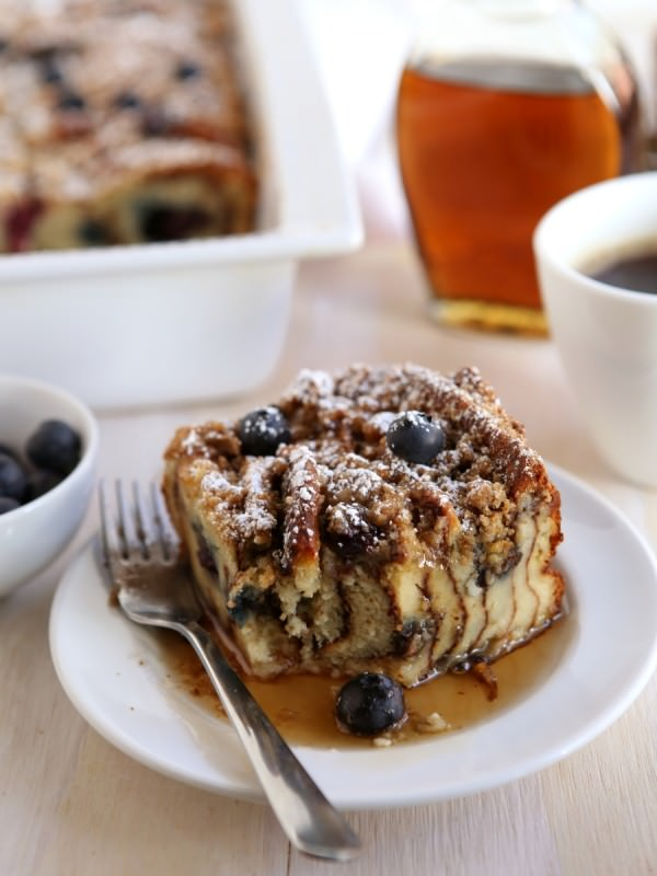 Blueberry Pancake Bake