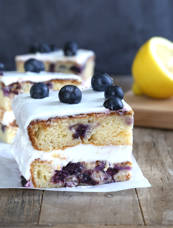 GF Blueberry Cake