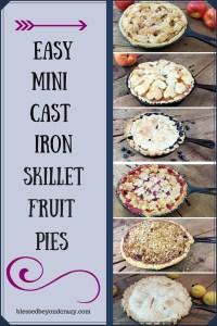 Skillet Fruit Pies